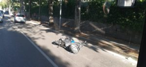 scooter incidente